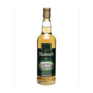 Bladnoch 20YO old botteling Lowlands Single malt whisky te koop bij Het Whiskycollectief Online Whiskyshop en bij Whiskyspecialist Martin Stavleu van Wijnhandel Van Welie uit Gouda