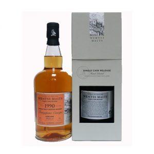 Wemyss Bladnoch 1990 26YO Single Malt whisky is te koop bij het Whiskycollectief Online Whiskyshop en via whiskyspecialist Martin Stavleu van Wijnhandel Van Welie uit Gouda
