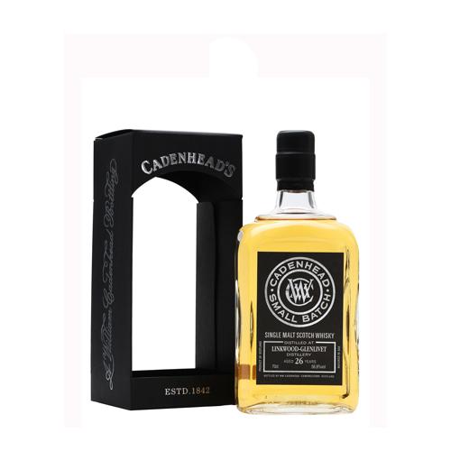 Cadenhead Linkwood-Glenlivet 1987 26YO Single Malt is een Speyside whisky welke te koop is bij Het Whiskycollectief Online whiskyshop en in Gouda bij Whiskyspecialist Martin Stavleu van wijnhandel van Welie