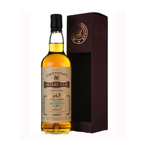 Cadenhead Mortlach 1988 27Yo Sherry Cask Single Malt Whisky is te koop bij Het whiskycollectief Online Whiskyshop en bij Whiskyspecialist Martin Stavleu van Wijnhandel Van Welie uit Gouda