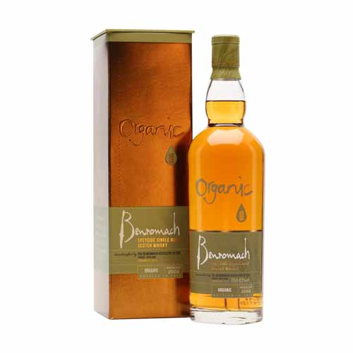 Benromach Organic is een single malt whisky uit de Speyside, Schotland en is online te koop bij het whiskycollectief van whiskyspecialist Martin Stavleu van Wijnhandel Van Welie uit Gouda