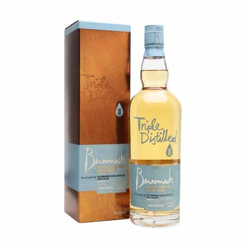 Benromach Triple Distilled is een single malt whisky uit de Speyside, Schotland en is online te koop bij het whiskycollectief van whiskyspecialist Martin Stavleu van Wijnhandel Van Welie uit Gouda