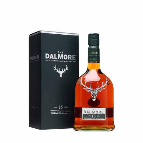Dalmore 15YO Single Malt Whisky is te koop bij Het Whiskycollectief Online Whiskyshop van whiskyspecialist Martin Stavleu van Wijnhandel Van Welie uit Gouda