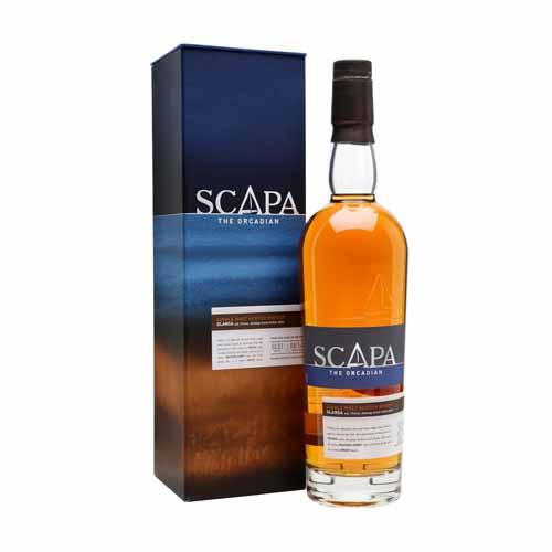 Scapa Glansa Single Malt Whisky uit Orkney Schotland is de aanbieding van Het Whiskycollectief van Wijnhandel Van Welie uit Gouda.