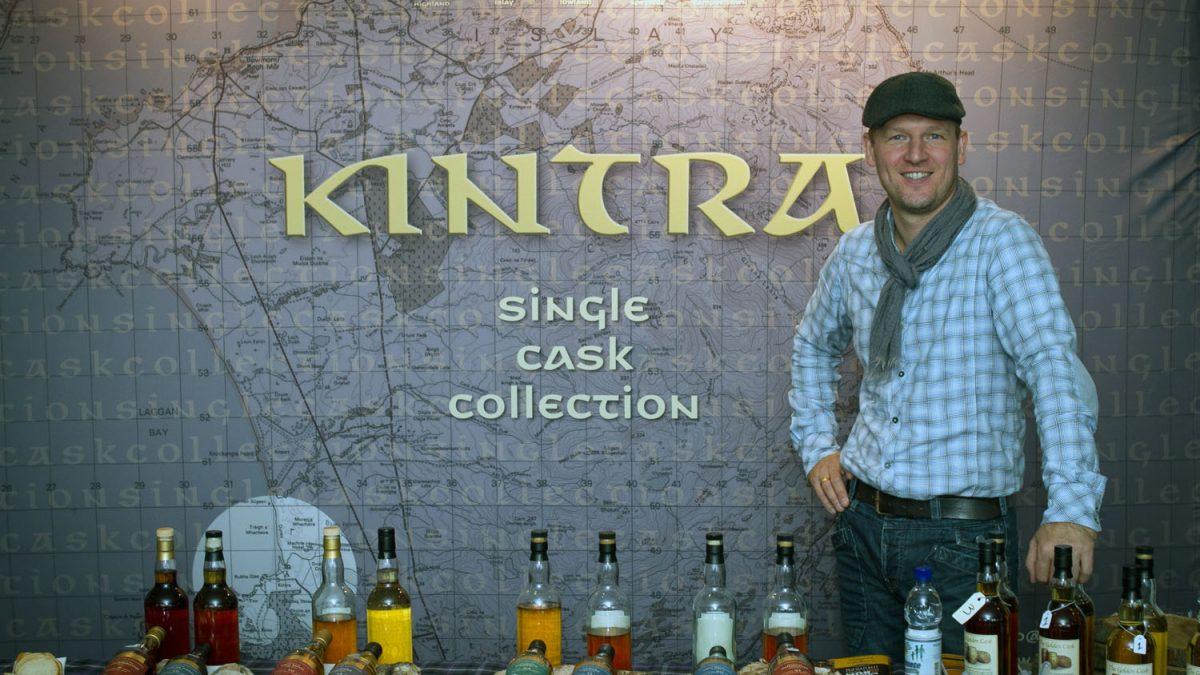 Whisky en rum proeverij van de oprichter van Wagging Finger en Kintra: Erik Molenaar bij Wijnhandel Van Welie in Gouda
